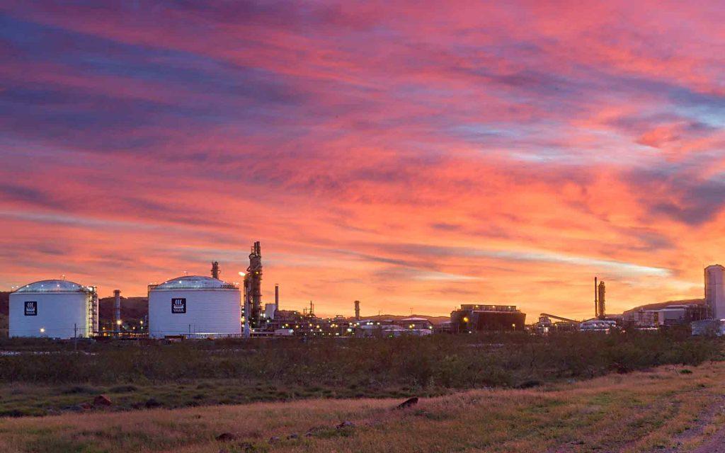 Yara Fertiliser's Pilbara facility