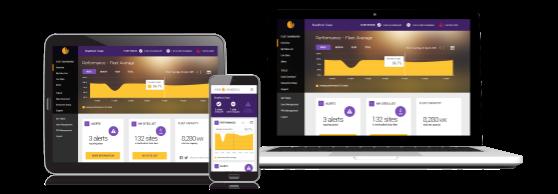 Solar Analytics smartphone, table and desktop application