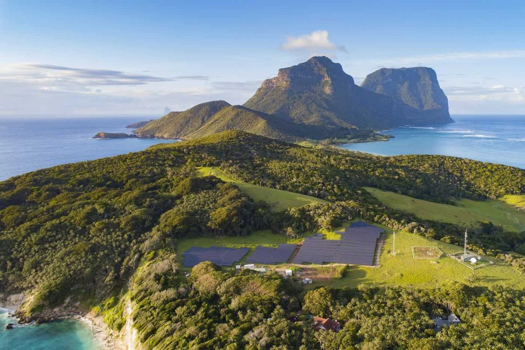 Lord Howe Island is a remnant of an extinct volcano. Image: Jack Shick